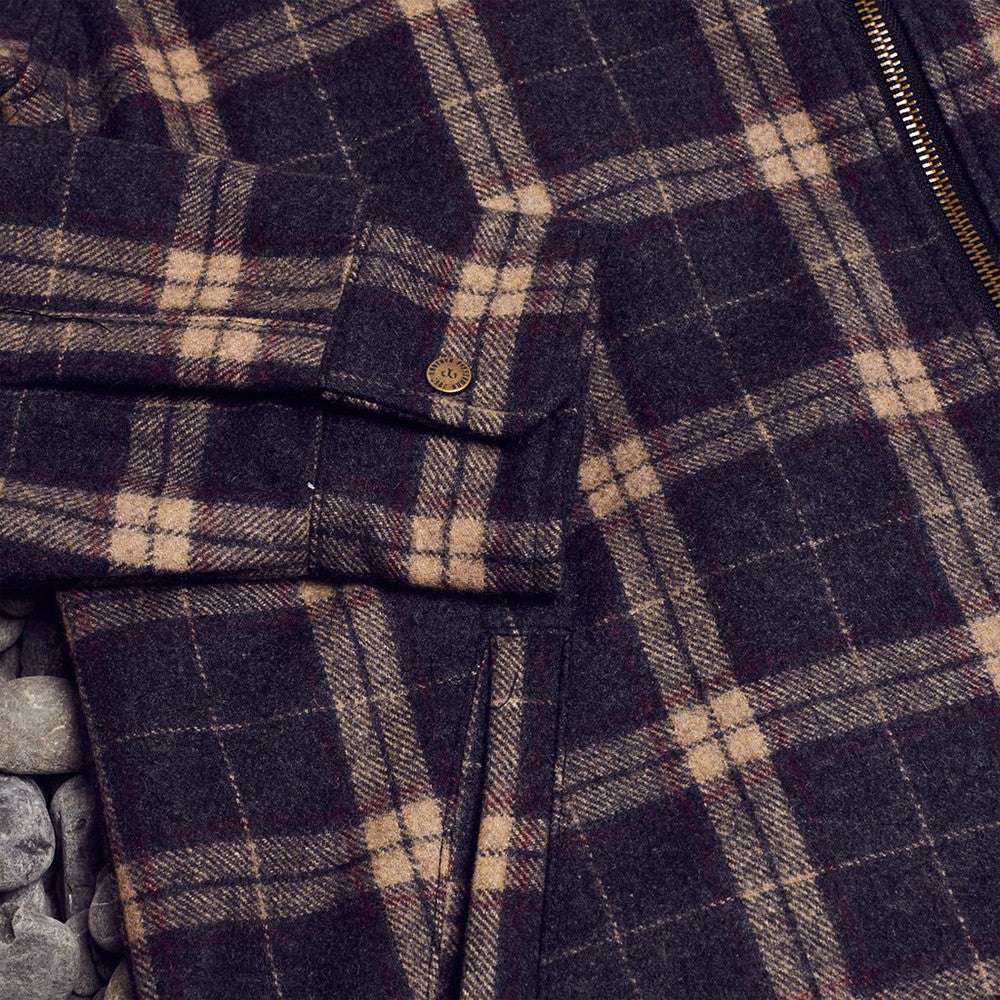 Just Another Fisherman (Shelter Wool Jacket) - Brown Check