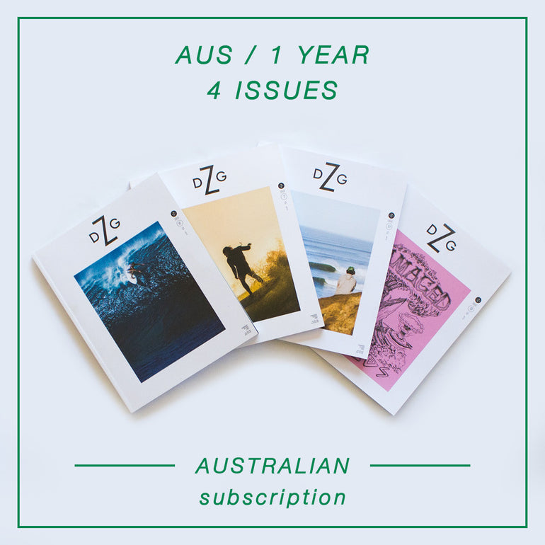 Damaged Goods Zine - 1 Year Australian Subscription
