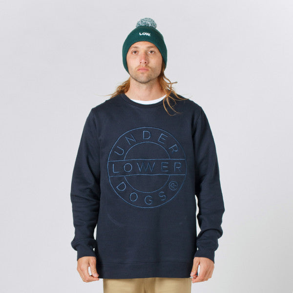 Lower TD Crew / Sign (Embroidered) - Navy