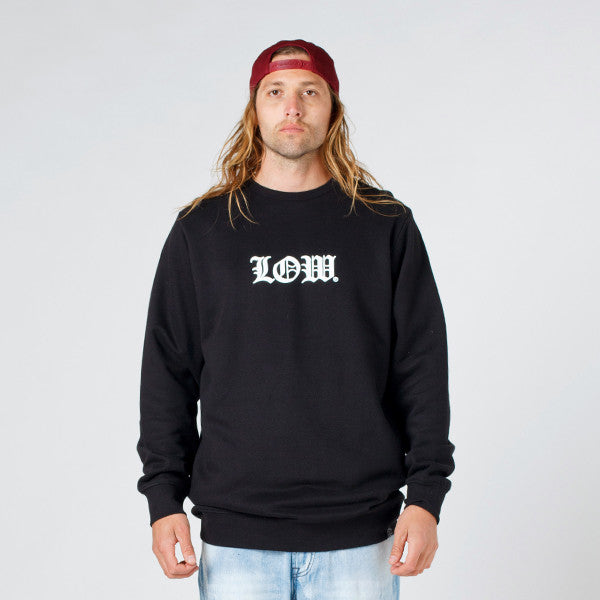 Lower TD Crew / Cloister (Puff) - Black