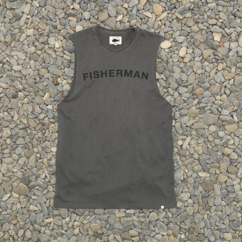 Just Another Fisherman Team Tank - Charcoal