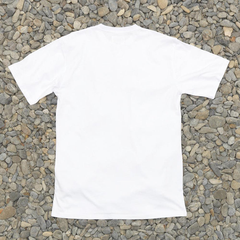 Just Another Fisherman Team Tee in White