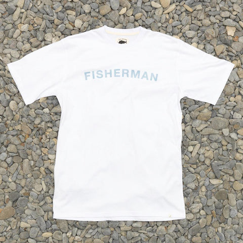 Just Another Fisherman Team Tee - White