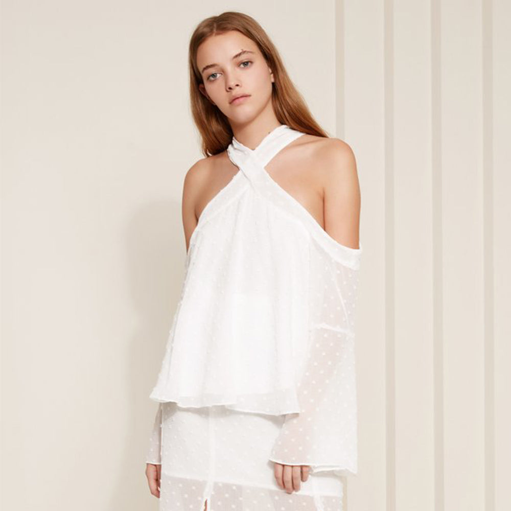 The Fifth Label Freya LS Top in White