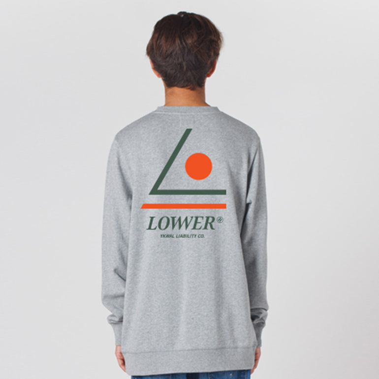 Lower TD Crew Tri-Lo in Grey