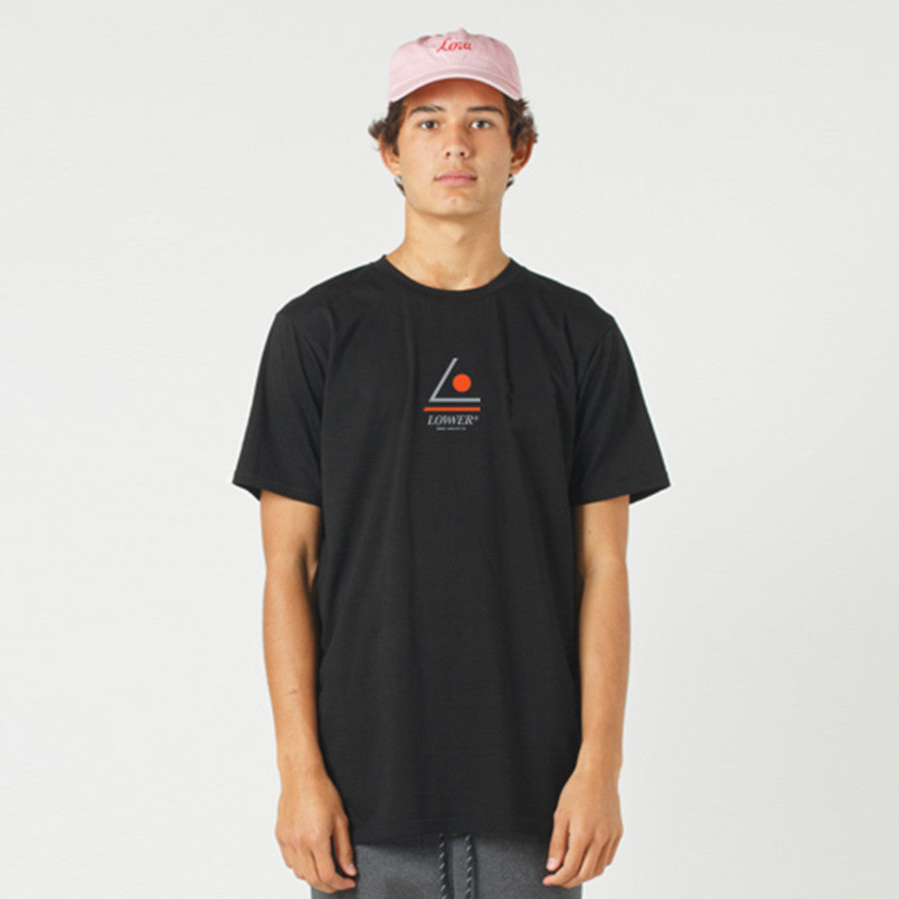 Lower QRS Tee Tri-Lo - Black