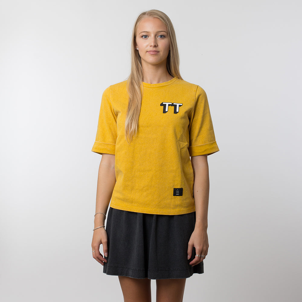 Thing Thing Easy Tee 3DT - Yellow Wash
