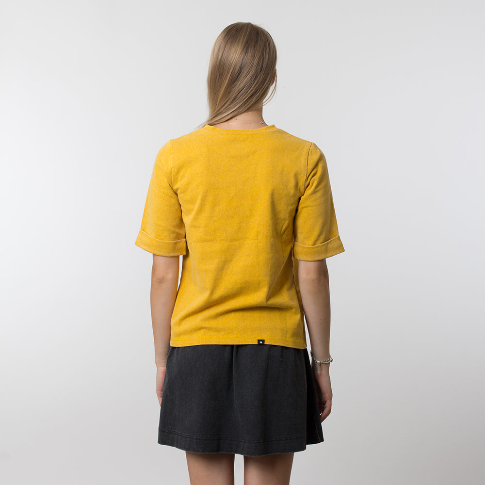 Thing Thing Easy Tee 3DT Yellow Wash