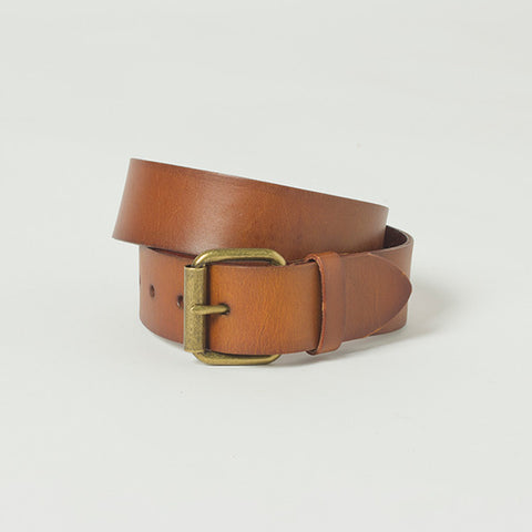 Five Each Leather Belt - Tan