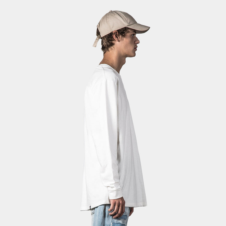 Thing Thing Plot Solid LS Tee in White