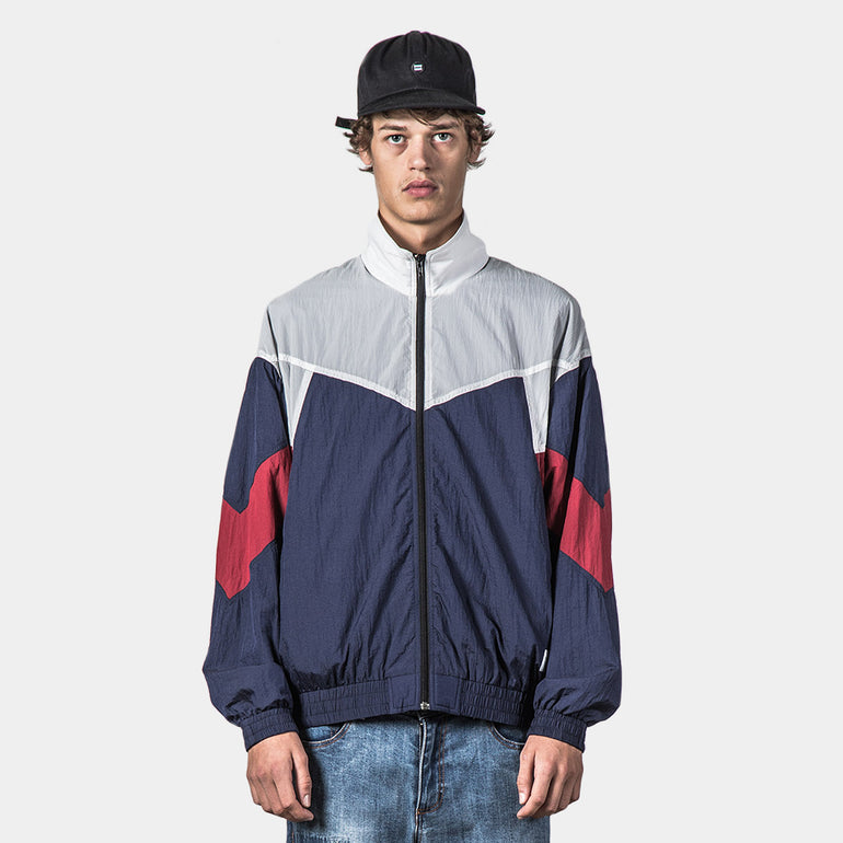 Thing Thing RFA Jacket - Navy/Red/White