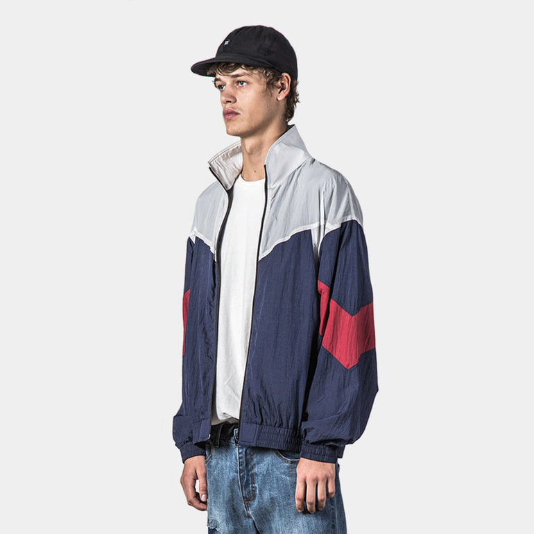 Thing Thing RFA Jacket in Navy/Red/White