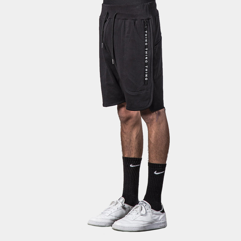 Thing Thing S.O.S. Short in Black