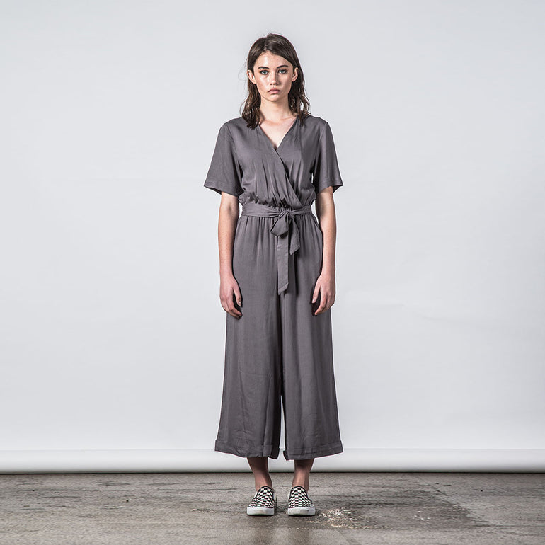 Thing Thing Veer Jumpsuit - Coal