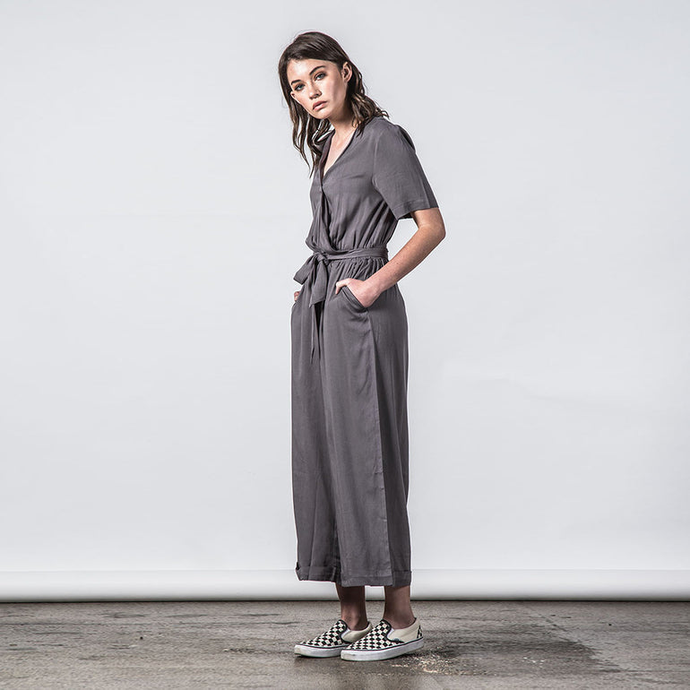 Thing Thing Veer Jumpsuit in Coal