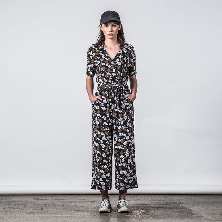 Thing Thing Veer Jumpsuit - Navy Garden