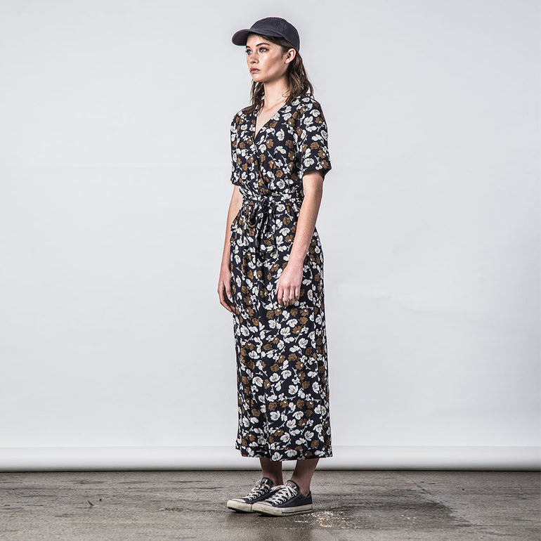 Thing Thing Veer Jumpsuit in Navy Garden