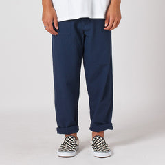 Lower Trench Pant in Navy