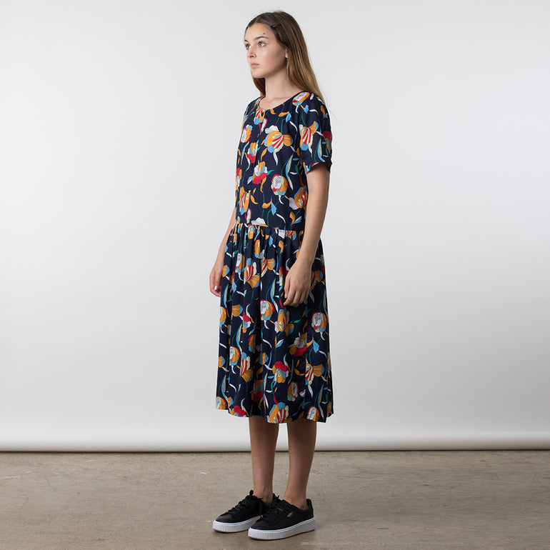 Thing Thing Lead On Dress in Pop Floral