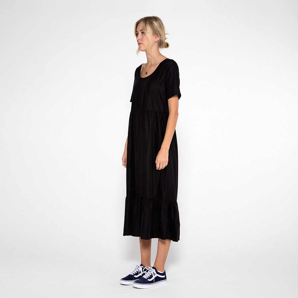 Now & Then Valentina Dress in Black