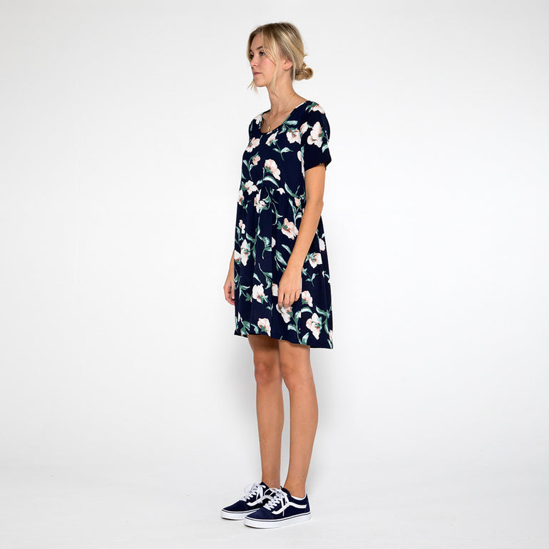 Now & Then Valentina Short Dress in Floral