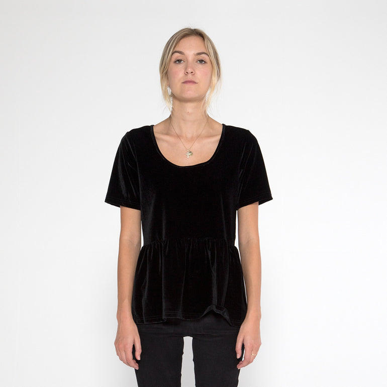 Now & Then Bethany Top - Black