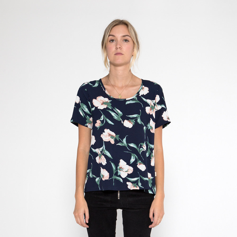 Now & Then Valentina Top - Floral