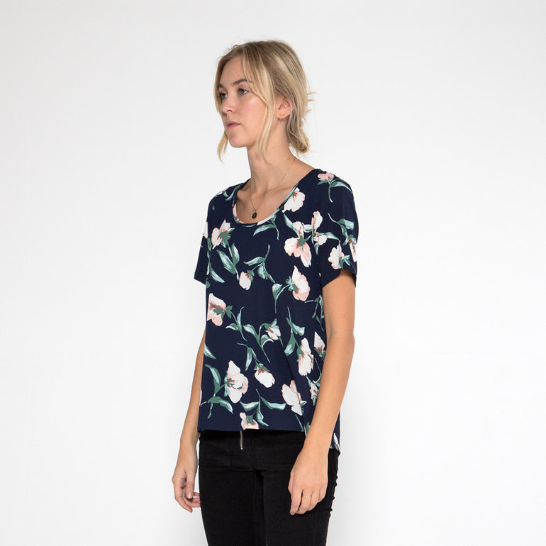 Now & Then Valentina Top in Floral