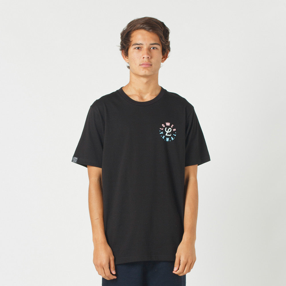 Lower QRS Tee / Infinity - Black