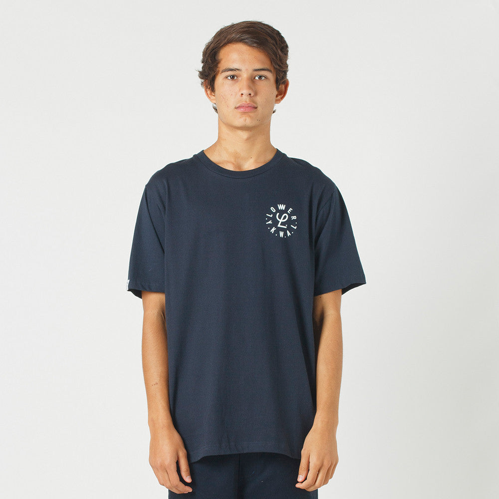 Lower QRS Tee / Infinity - Navy