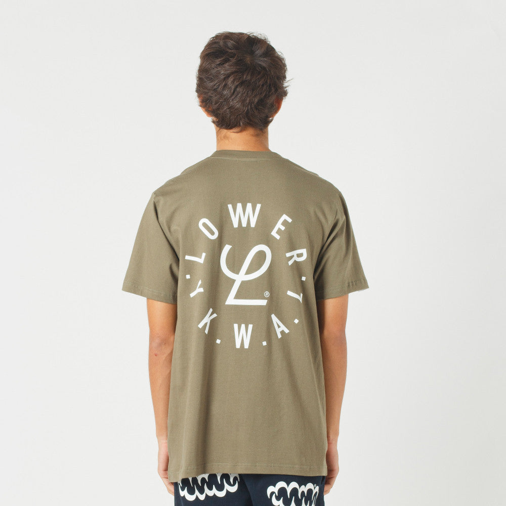 Lower QRS Tee / Infinity Olive