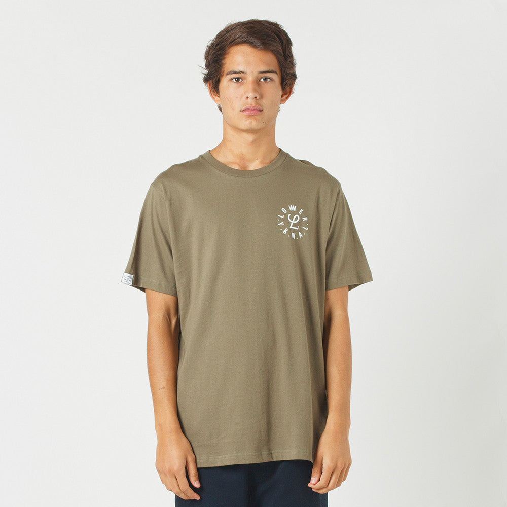 Lower QRS Tee / Infinity - Olive