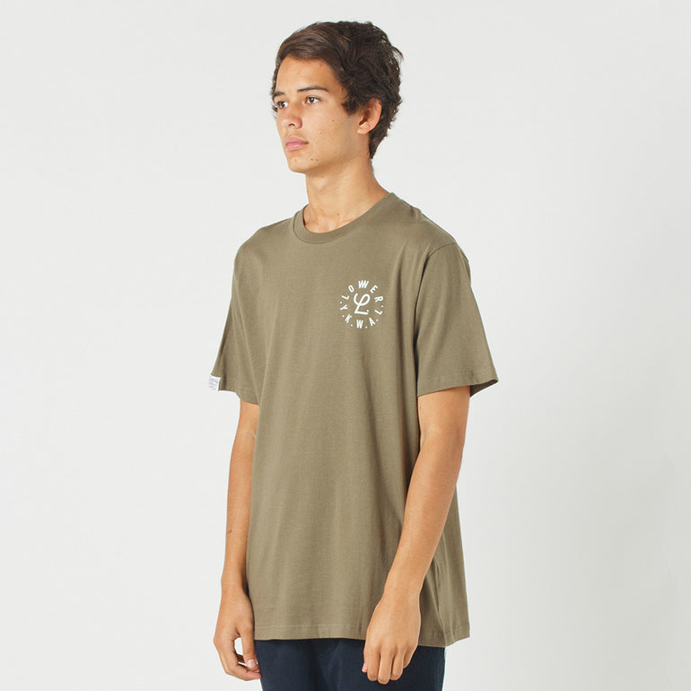 Lower QRS Tee / Infinity in Olive