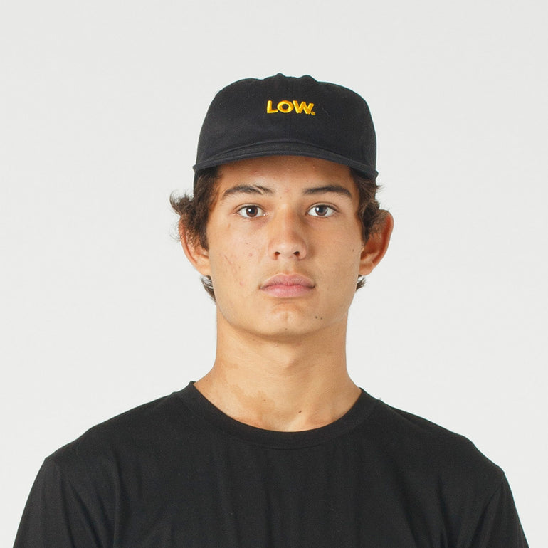 Lower Pitch Cap / Low - Black