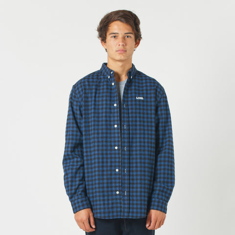 Lower Raf Shirt / Low (Embroidered) - Blue