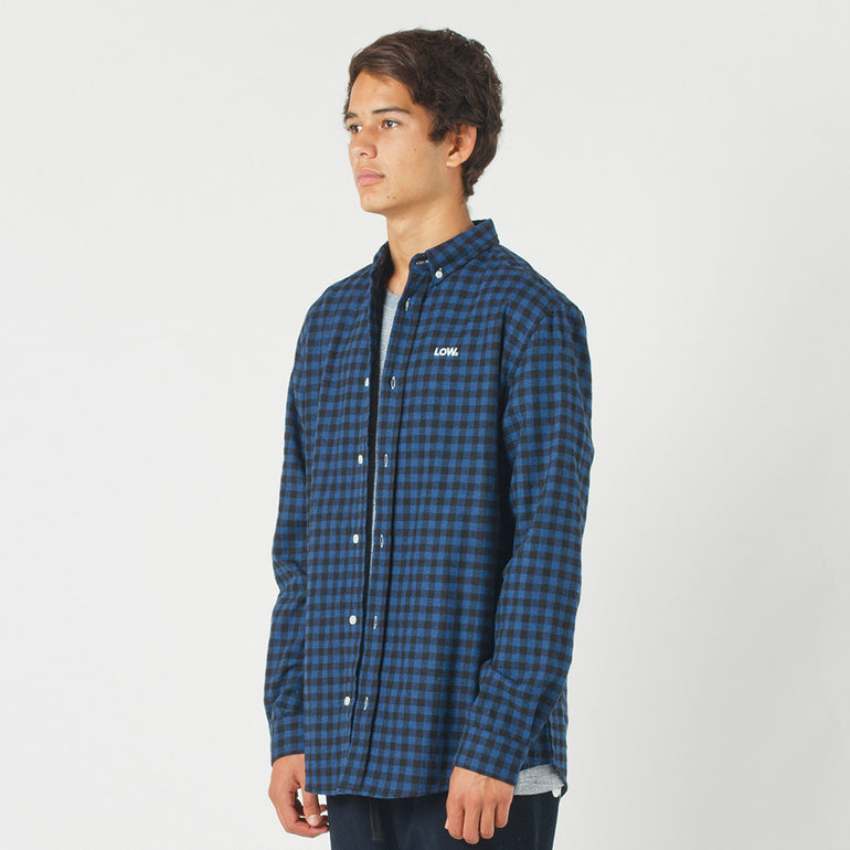 Lower Raf Shirt / Low (Embroidered) in Blue