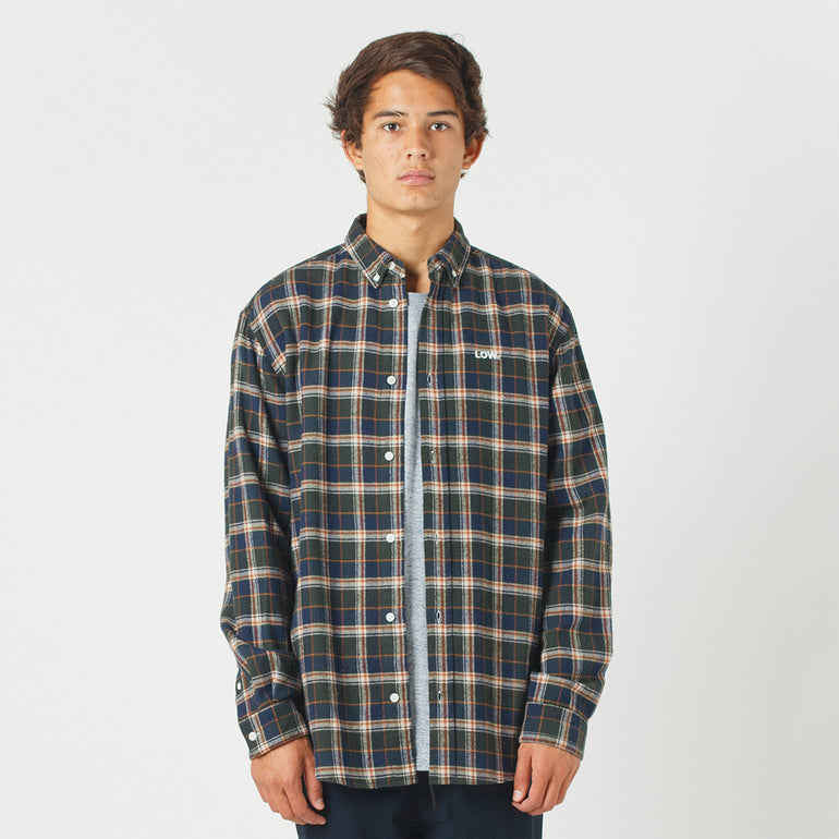 Lower Raf Shirt / Low (Embroidered) - Green
