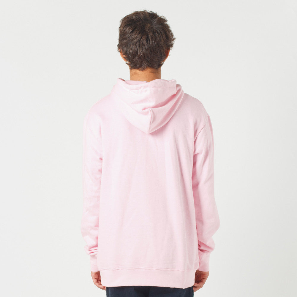 Lower Set Hood / Triple U (Embroidered) Pink