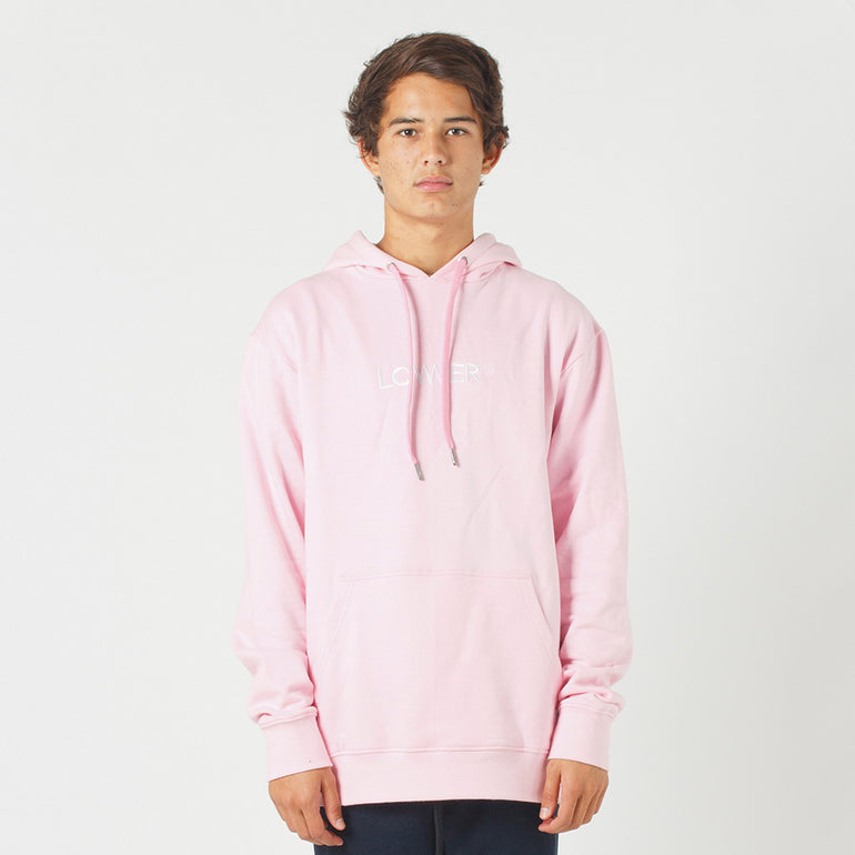 Lower Set Hood / Triple U (Embroidered) - Pink