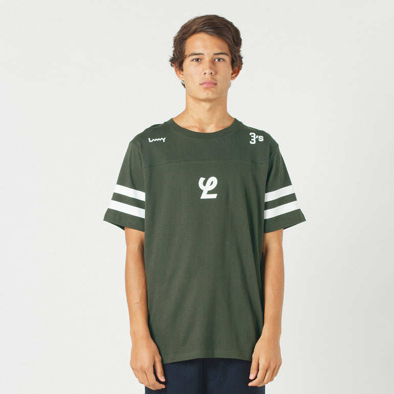 Lower QRS Tee / Yale - Green