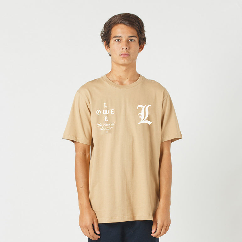 Lower QRS Tee / Curve - Tan