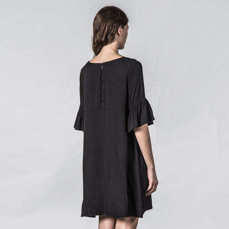 Thing Thing Tresspass Dress in Black