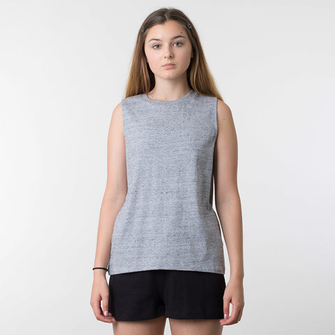 Lower Basic Essential Tank - Grey Marle