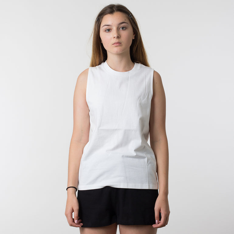 Lower Basic Essential Tank - White