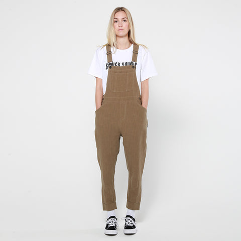 Lower Elsa Overalls - Khaki