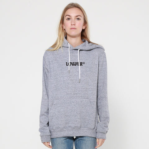 Lower Hettie Hood / OE Triple Double - Grey Marle
