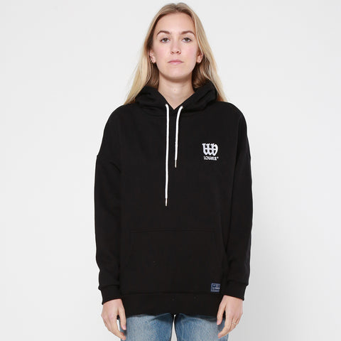 Lower Slouchy Hood / OE Triple Double - Black