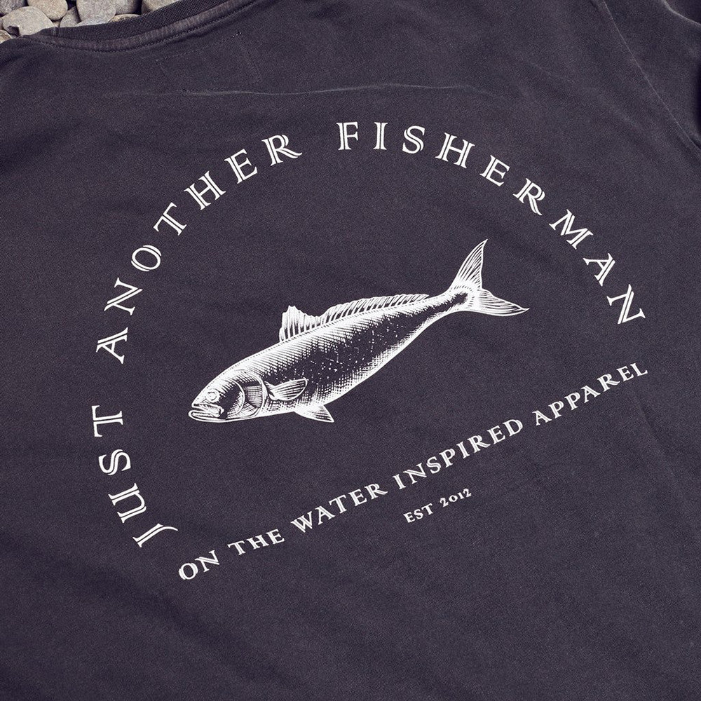 Just Another Fisherman Y Tee Ashphalt