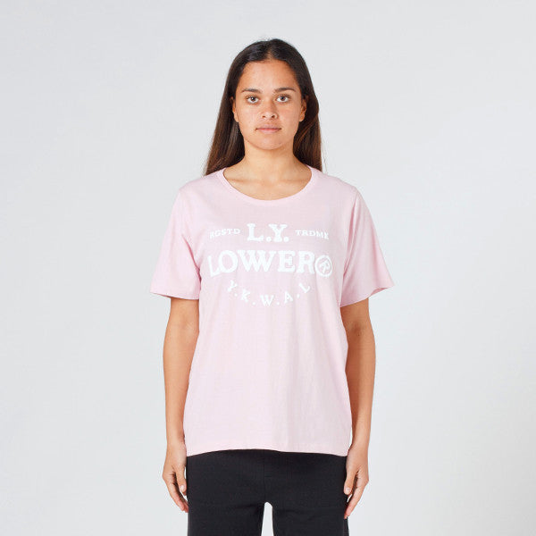 Lower Active Tee / Page (Puff) - Pink