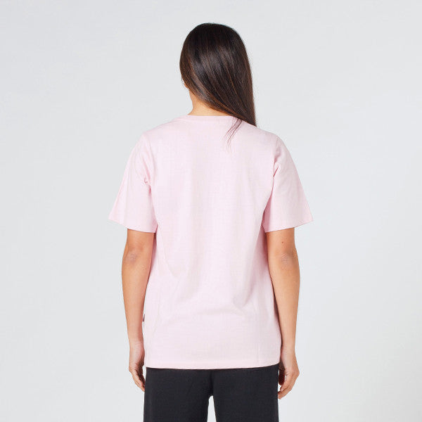 Lower Active Tee - Skitse (Embroidered) in Pink
